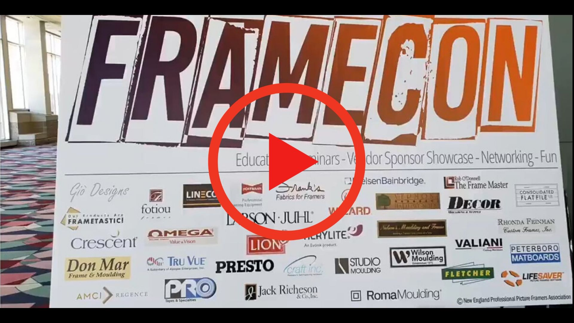 Video Compilation of Some of the Vendors at FrameCon 2019