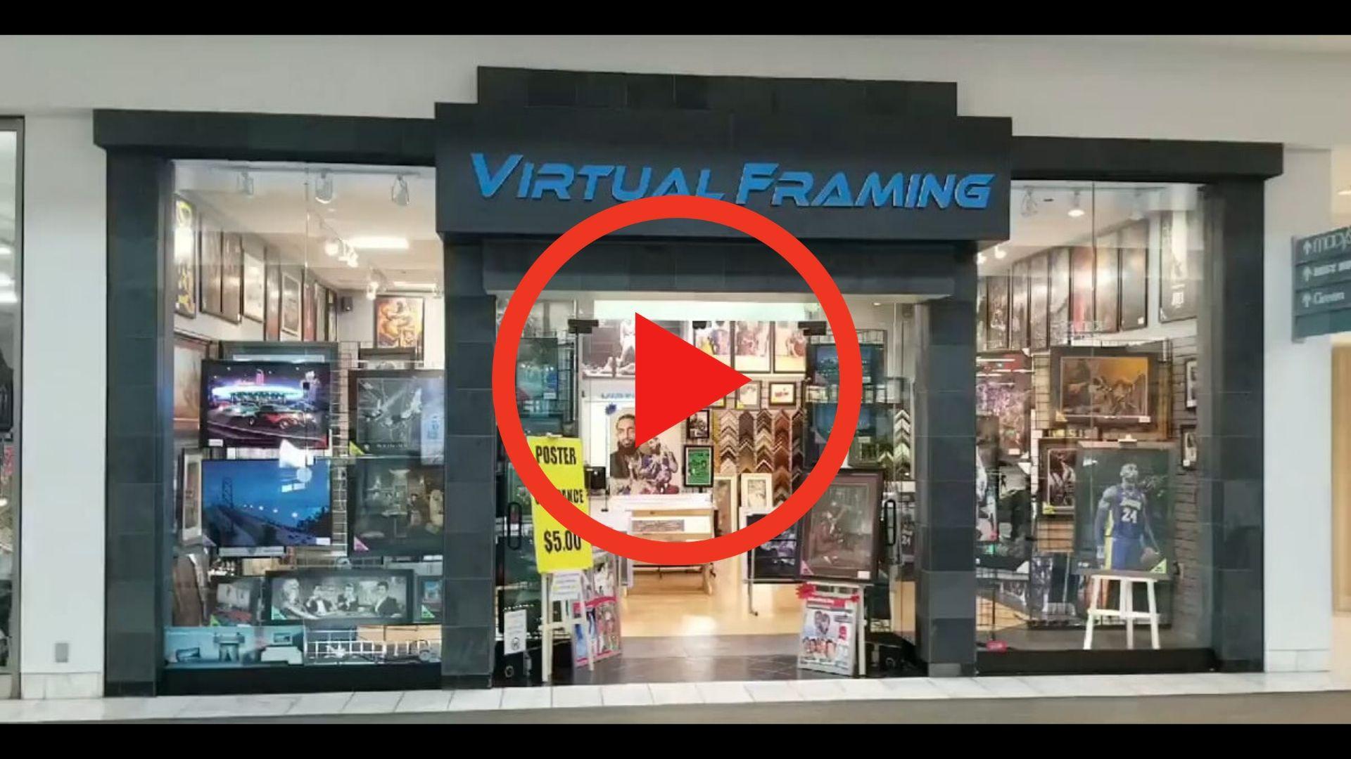 Virtual Framing Shop Tour